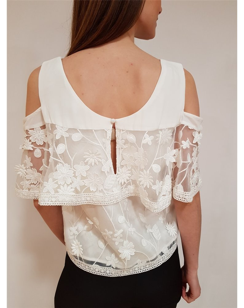 Fracomina blusa verde fr18fm564119 Camicie donnaFRACOMINAproduct_reduction_percent